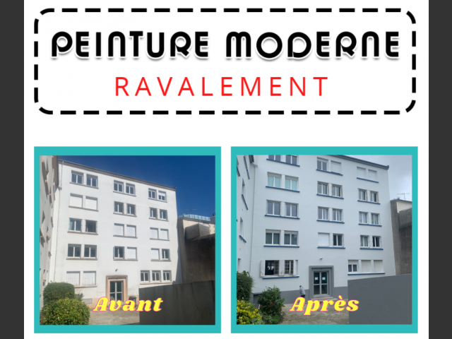 Ravalement immeubles brest